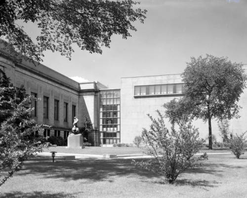 Cleveland Museum of Art 1958 building