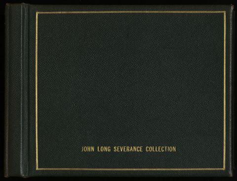 John Long Severance Collection photo album