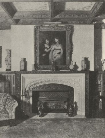 Interior of Longwood Estate