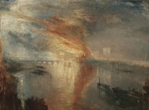 the Burning of the Houses of Lords and Commons, 16 October 1834